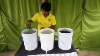 How to make Kitchen Waste Compost at Costales Nature Farms