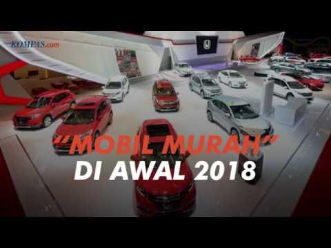 Diskon Besar Mobil Murah di Awal Tahun 2018