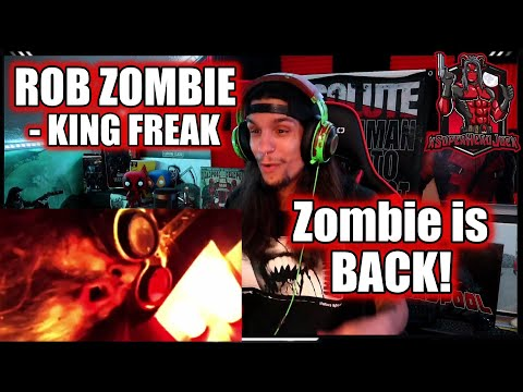 SuperHeroJoe Reacts: ROB ZOMBIE -The Triumph of King Freak(A Crypt of Preservation and Superstition)