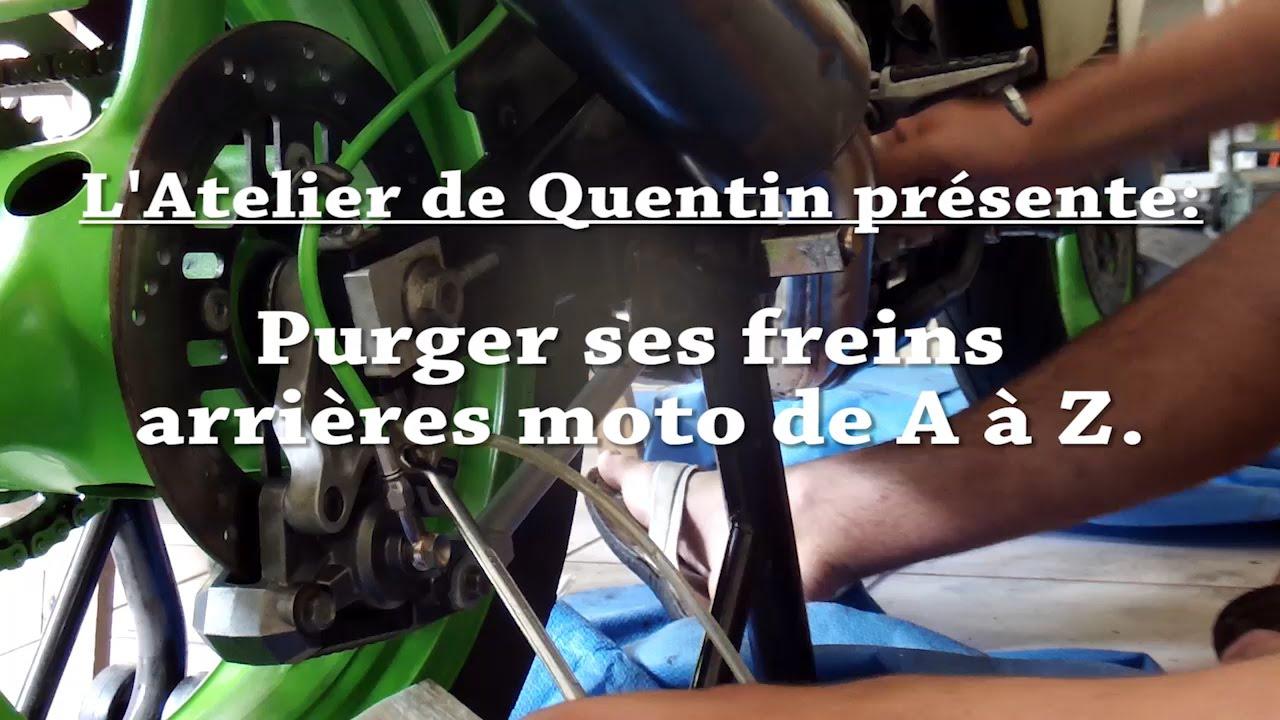 Purger ses freins arrieres moto de a z youtube for Bien purger ses radiateurs