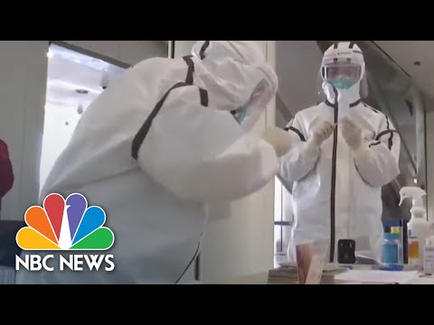 China Ramps Up Screening Measures, Fearing Second Wave Of Coronavirus | NBC News NOW