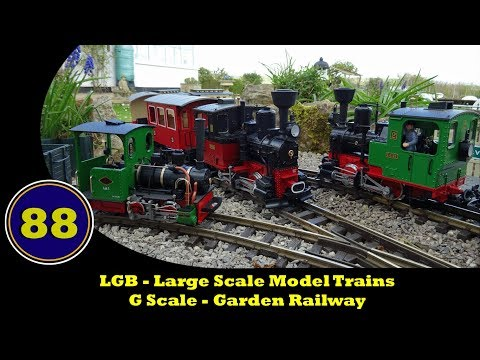 LGB – Large Scale Model Trains – Garden Railway
