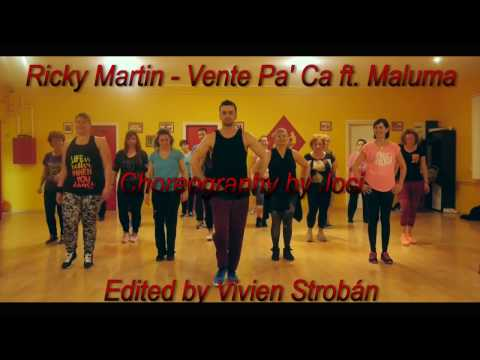 Ricky Martin – Vente Pa' Ca – Zumba Routine – Joci