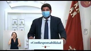 La Región de Murcia decreta el uso obligatorio de mascarilla