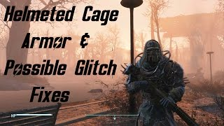 Fallout 4 Tips | Where To Get The Helmeted Cage Armor & More Possible Fast Travel Glitch Fixes!