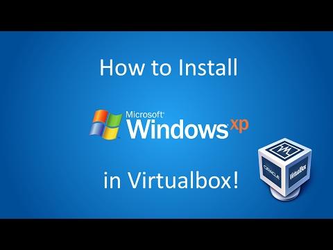 Windows XP Professional - Installation In Virtualbox (2017)