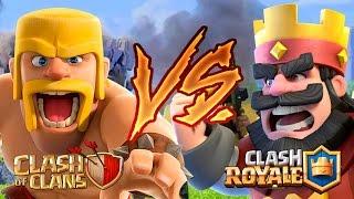 Pelcula de Clash Royale VS Pelicula de Clash Of Clans En español completa