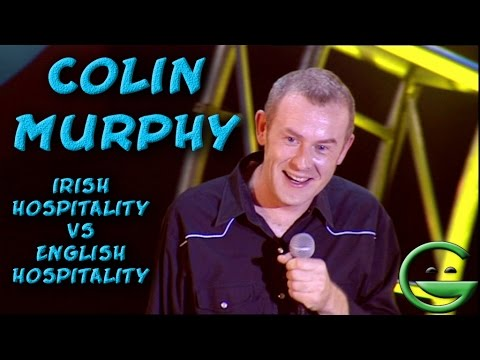 Colin Murphy  Irish VS English hospitality | Grintage Ireland