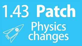RL Patch 1.43/1.44 physics changes - Rocket Science