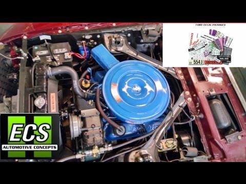 ecs automotive mustang decal kit 1969 mustang gt restoration part 78 rh youtube com