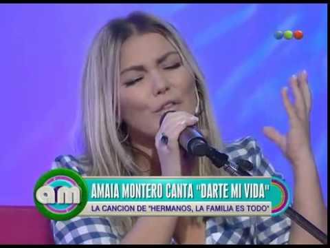 Darte mi vida (Acústico) - Amaia Montero - Antes del Mediodía (16/03/15)