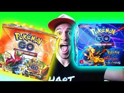 OPENING POKEMON GO FAKE POKEMON CARDS BOX! (RARE Pokemon Cards IN EVERY PACK!)