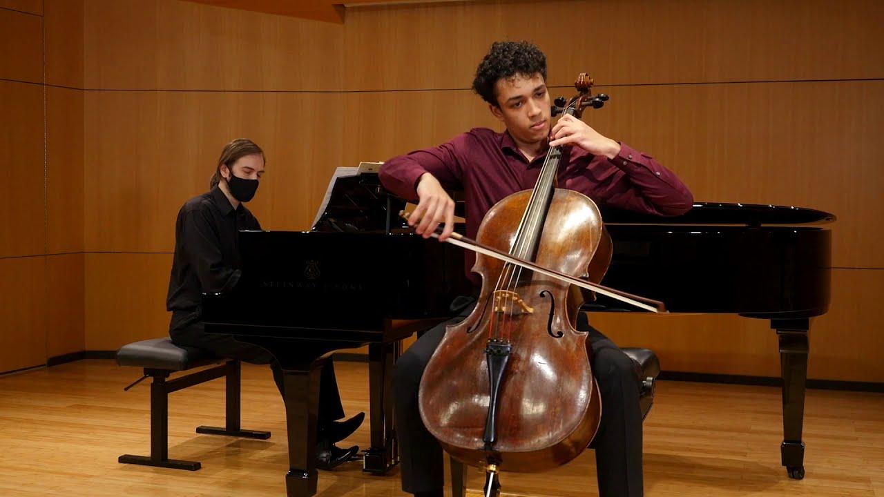 Haydn Cello Concerto in C Major, George Wolfe-McGuire