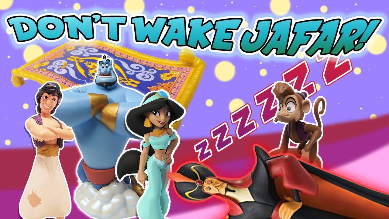 Aladdin Jasmine Play The Dont Wake Daddy Game W Jafar Genie