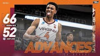 Virginia Tech vs. Saint Louis: First round NCAA tournament extended highlights