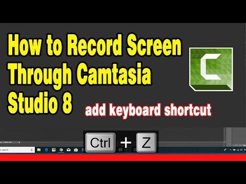 How To Display Keystrokes On A Windows PC Screen || How To Record Screen Through Camtasia Studio 8