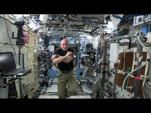 NASA Astronaut Talks with Colorado Students About His 1-Year Odyssey in Space