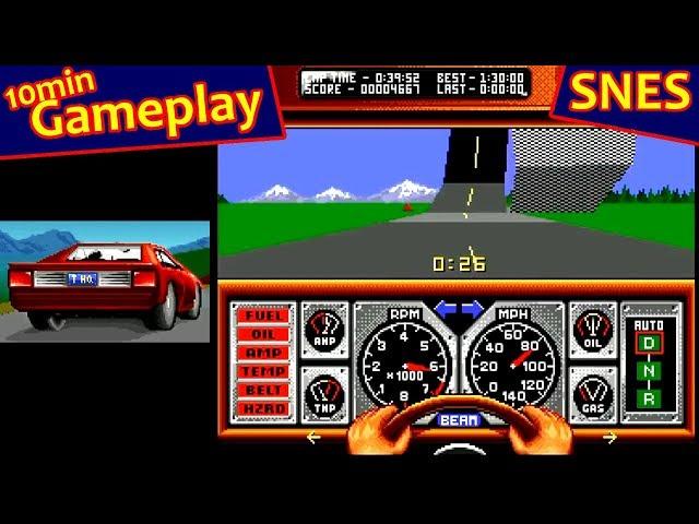 Race Drivin' ... (SNES)