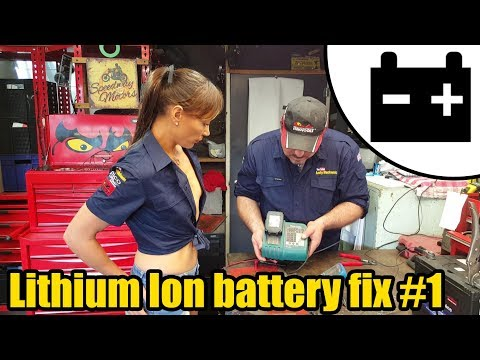 Lithium Ion battery Fix #1 Ft. Tool Girl Hana #1444