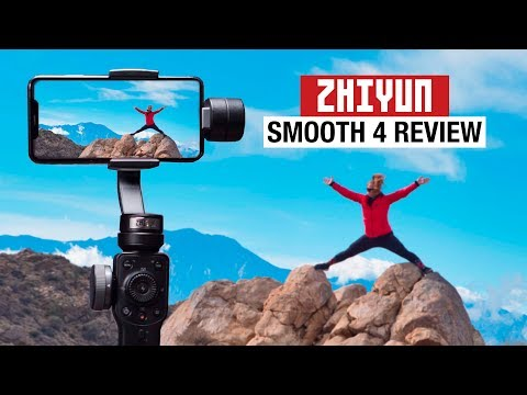 ZHIYUN Smooth 4 + FILMIC PRO is Awesome for CREATORS!