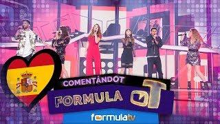 Primera REACCIÓN: Las canciones para Eurovisión 2018 de 'OT 2017' - Fórmula OT