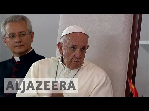 Colombia: FARC leader asks Pope Francis for forgiveness