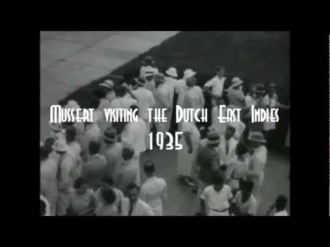 Mussert visiting the Dutch East Indies 1935