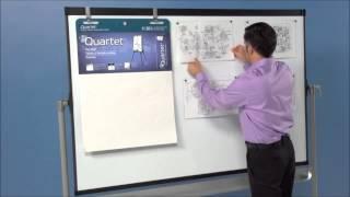 Quartet® Prestige® 2 Mobile 6' X 4' Presentation Easel