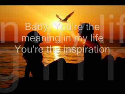 You Are The Inspiration Lyrics On Screen by Chicago - YouTube