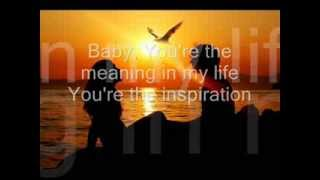 Download You're The Inspiration By Chicago LYRICS MP3 song and Music Video