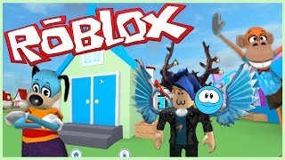 TOON TOWN IN ROBLOX?! - Roblox Meep City