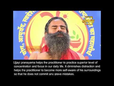 Ujjayi Pranayama | spontaneous breath control | Detailed Explanation | English subtitle | Ramdev
