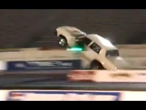 EPIC FAIL Wheelie Action from a 4 Door Malibu!