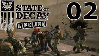 State of Decay: LIFELINE Let's Play #02 – Was sollen wir bauen? [GERMAN GAMEPLAY]