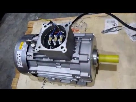 Ex Proof Motor Test Run 15kw-4P (MV-Electric)