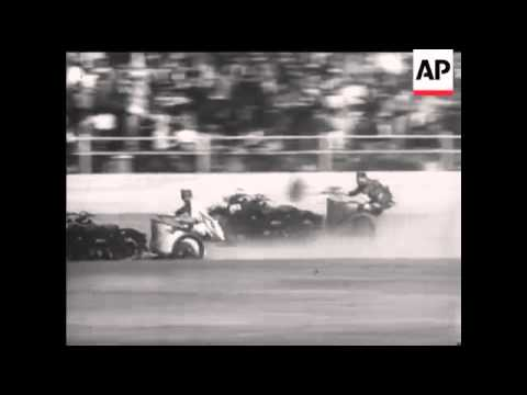 MOTOR CYCLE CHARIOT RACING