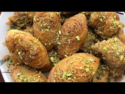 Турецкая Пахлава/ Пахлава с творожным сыром и орехами