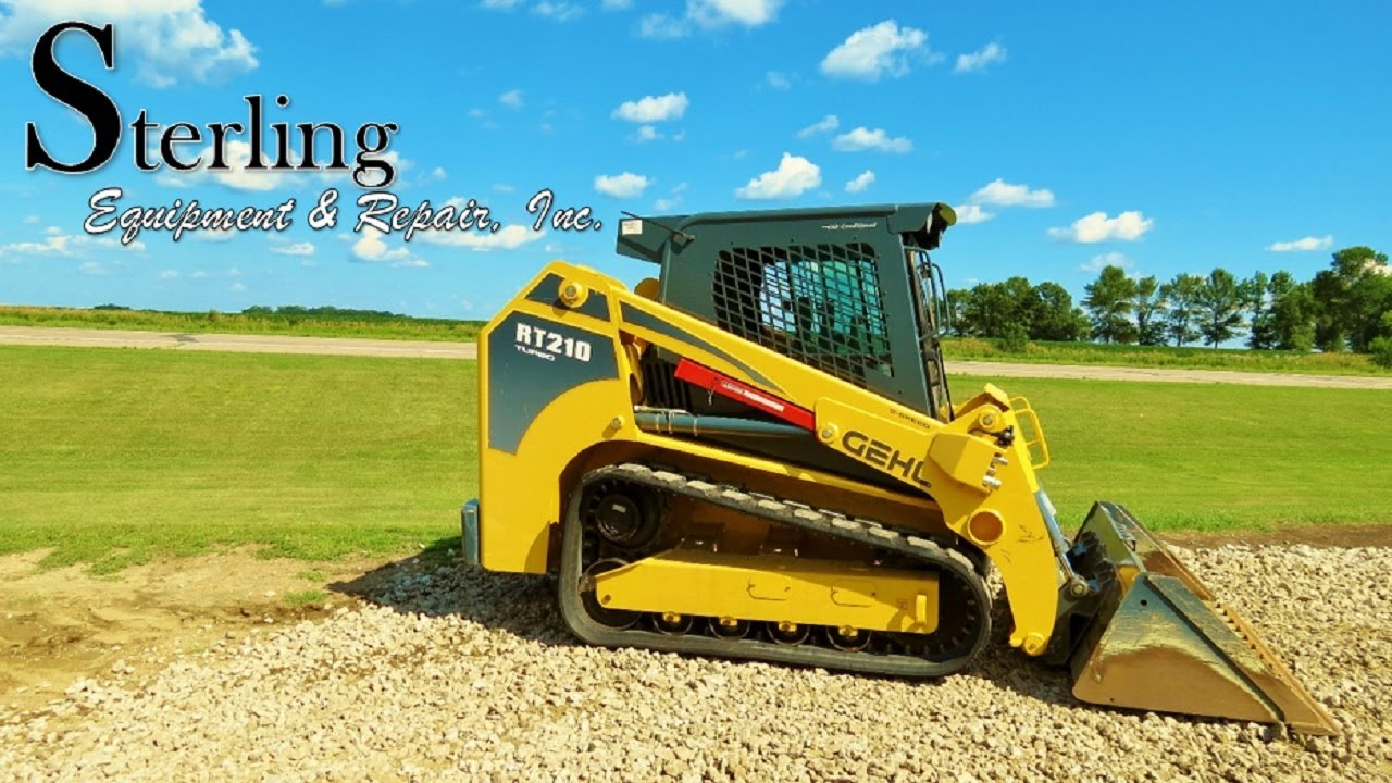 Gehl RT210 Track Loader Overview by Sterling Equipment & Repair