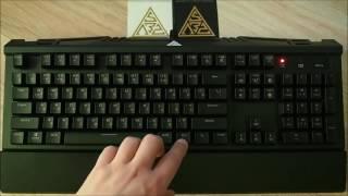 Краткий обзор клавиатуры GAMDIAS Hermes 7 COLOR