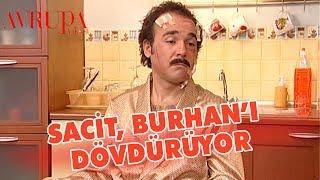 Sacit, Burhan'ı İzzet'e Dövdürüyor - Avrupa Yakası