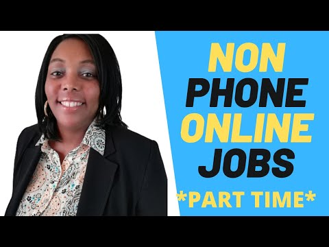 Best No Phone Work At Home Jobs 2020|