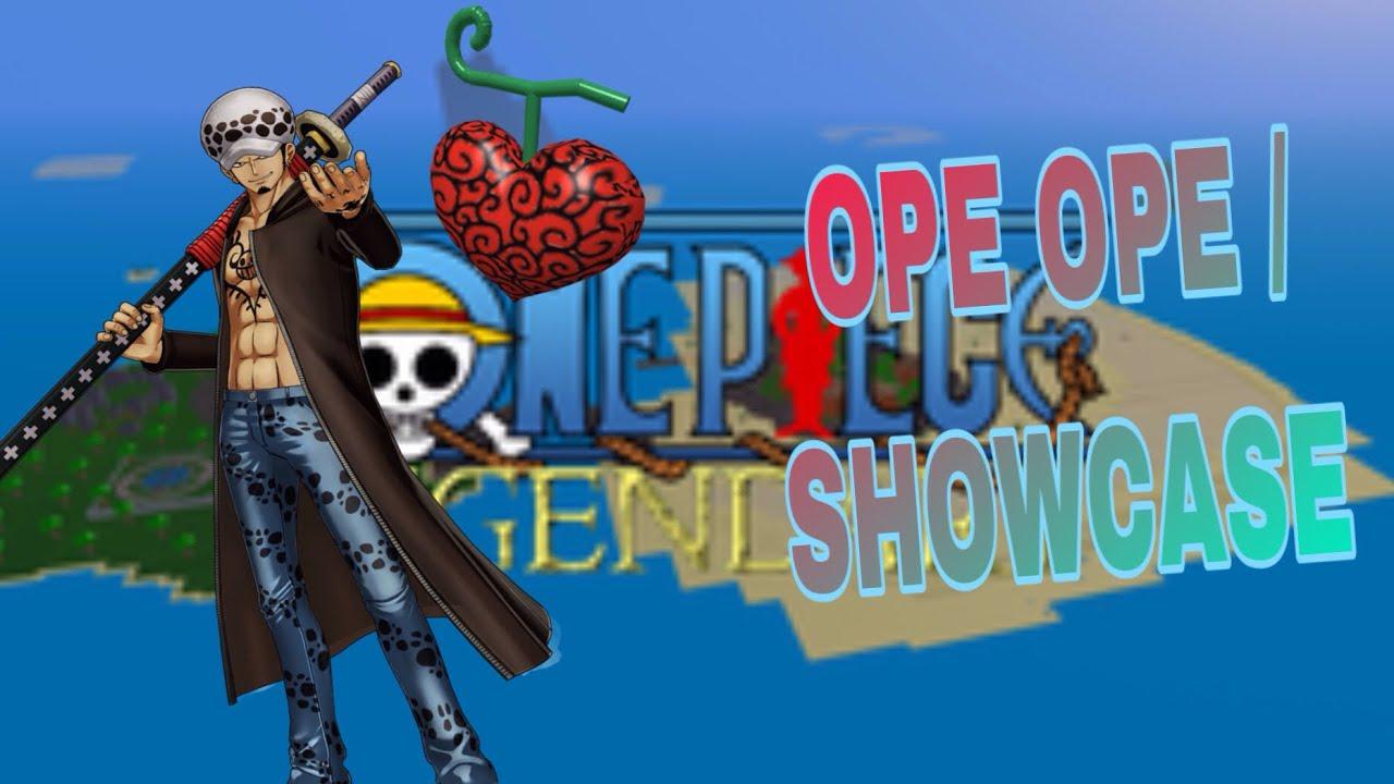 OPE OPE / SHOWCASE / ONE PIECE LEGENDARY FR - YouTube