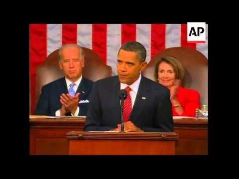 US President Obama speech to Congress on healthcare reform