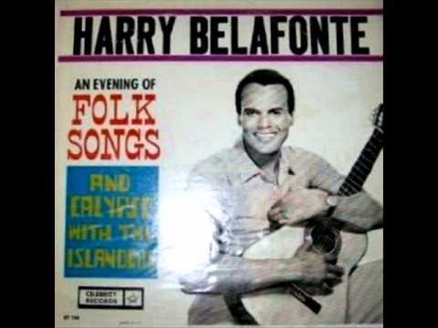 The Donkey Song by Harry Belafonte & Islanders on early 1960's Mono Celebrity LP.