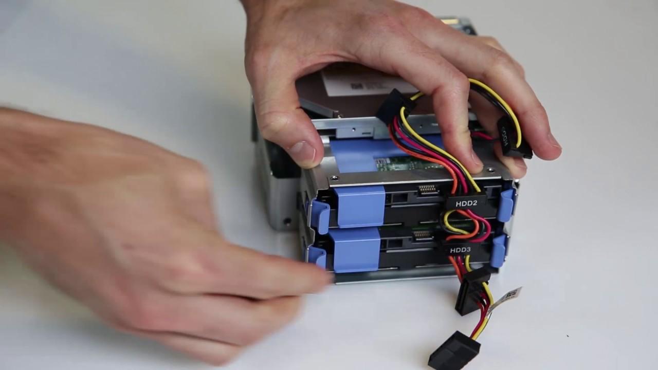 Dell PowerEdge T30: Install 3 5