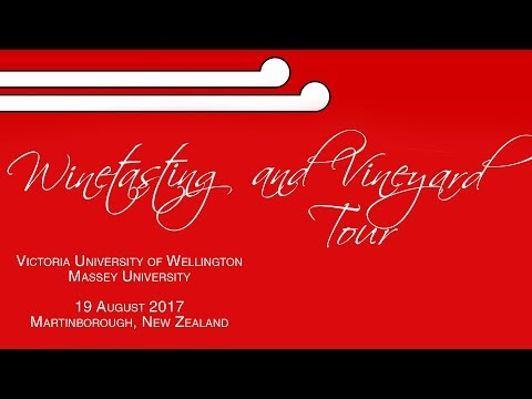ISA Wellington/Palmy Excursion: Winetasting and Vineyard Tour