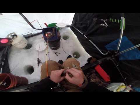Ice Fishing: South Dakota Walleyes