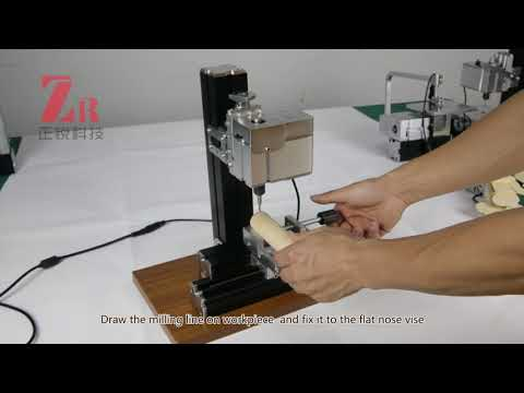 Operation Video of Mini Metal Milling Machine
