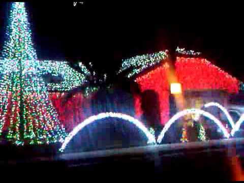 Cathedral City Christmas House - Cathedral City Christmas House - YouTube
