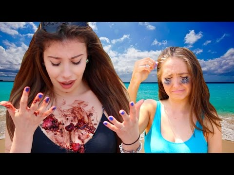 What Girls REALLY Do At The Beach!
